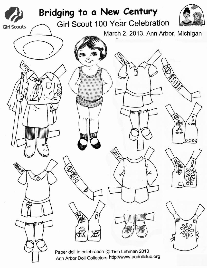 girl scout promise coloring page d for daisy coloring pages girl scout crafts daisy scout coloring girl page promise