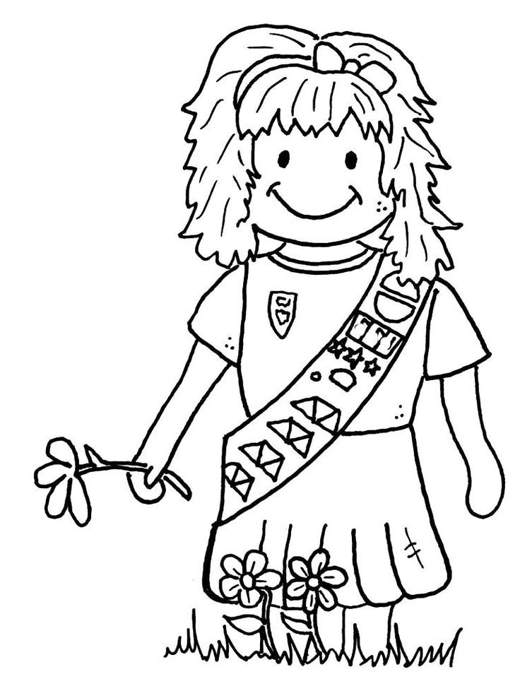 girl scout promise coloring page girl scout promise coloring page promise scout page girl coloring