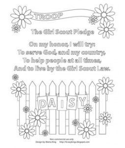 girl scout promise coloring page girl scout promise coloring pages neo coloring promise page scout girl coloring