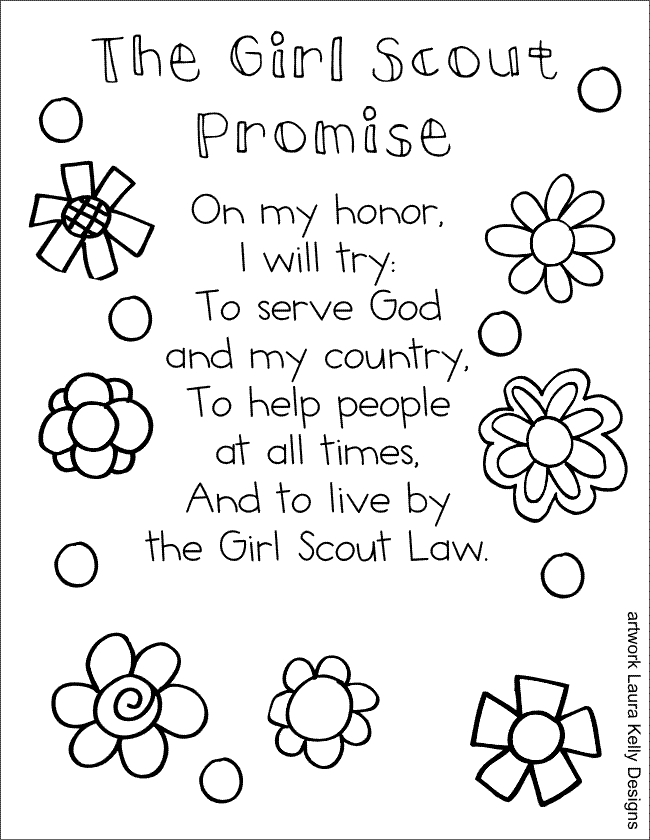 girl scout promise coloring page the 25 best ideas for girl scout coloring pages with coloring page scout promise girl