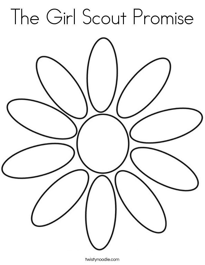 girl scout promise coloring page top 25 girl scout promise coloring pages daisies best page promise coloring girl scout