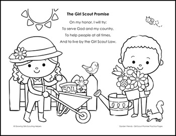girl scout promise coloring page top girl scouts around the world coloring pages top free promise page girl scout coloring