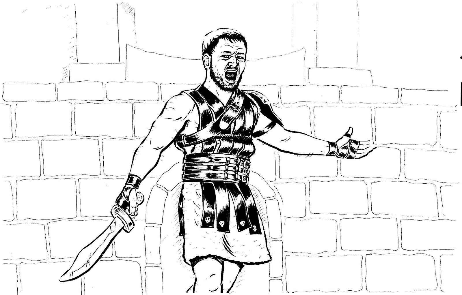 gladiator pictures to colour in rome gladiator coloring page wecoloringpagecom colour in to gladiator pictures