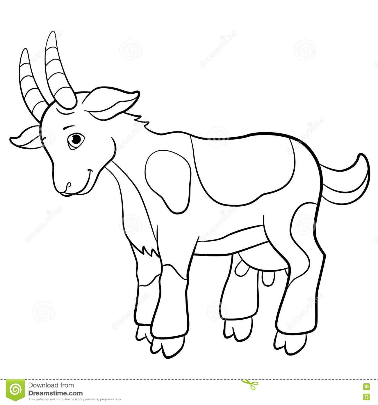 goat coloring images goat coloring pages coloring pages to download and print images coloring goat
