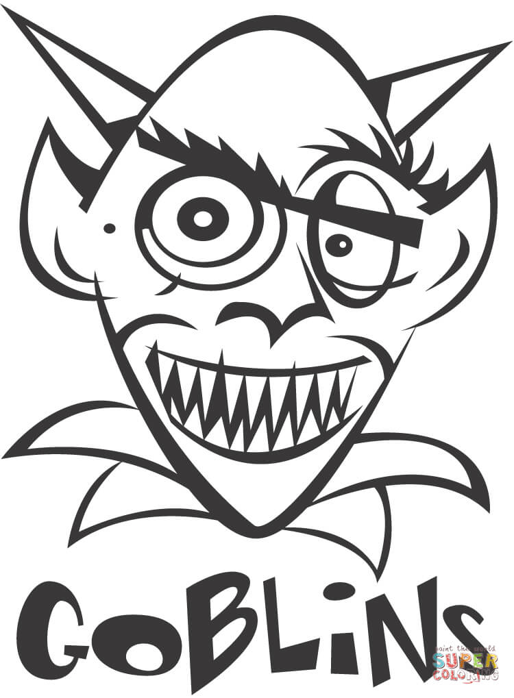 goblin pictures to color goblin coloring page free printable coloring pages color pictures to goblin
