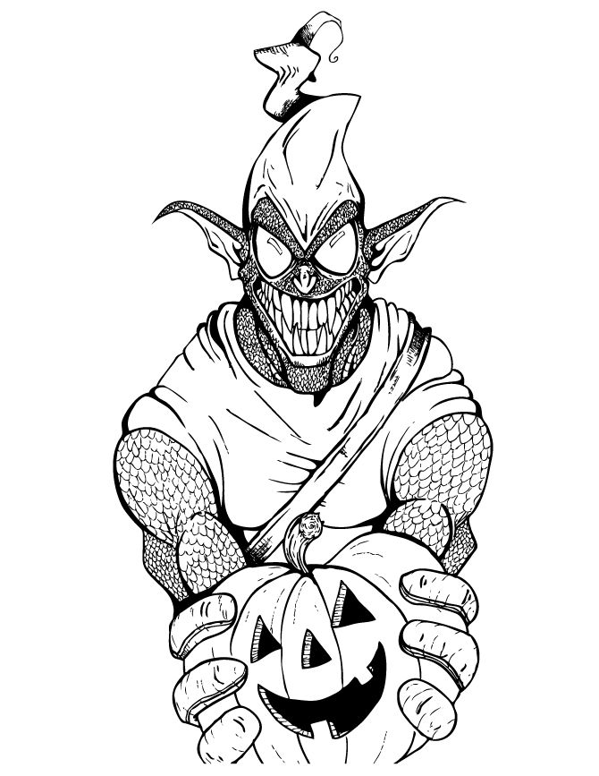goblin pictures to color green goblin free colouring pages color goblin to pictures