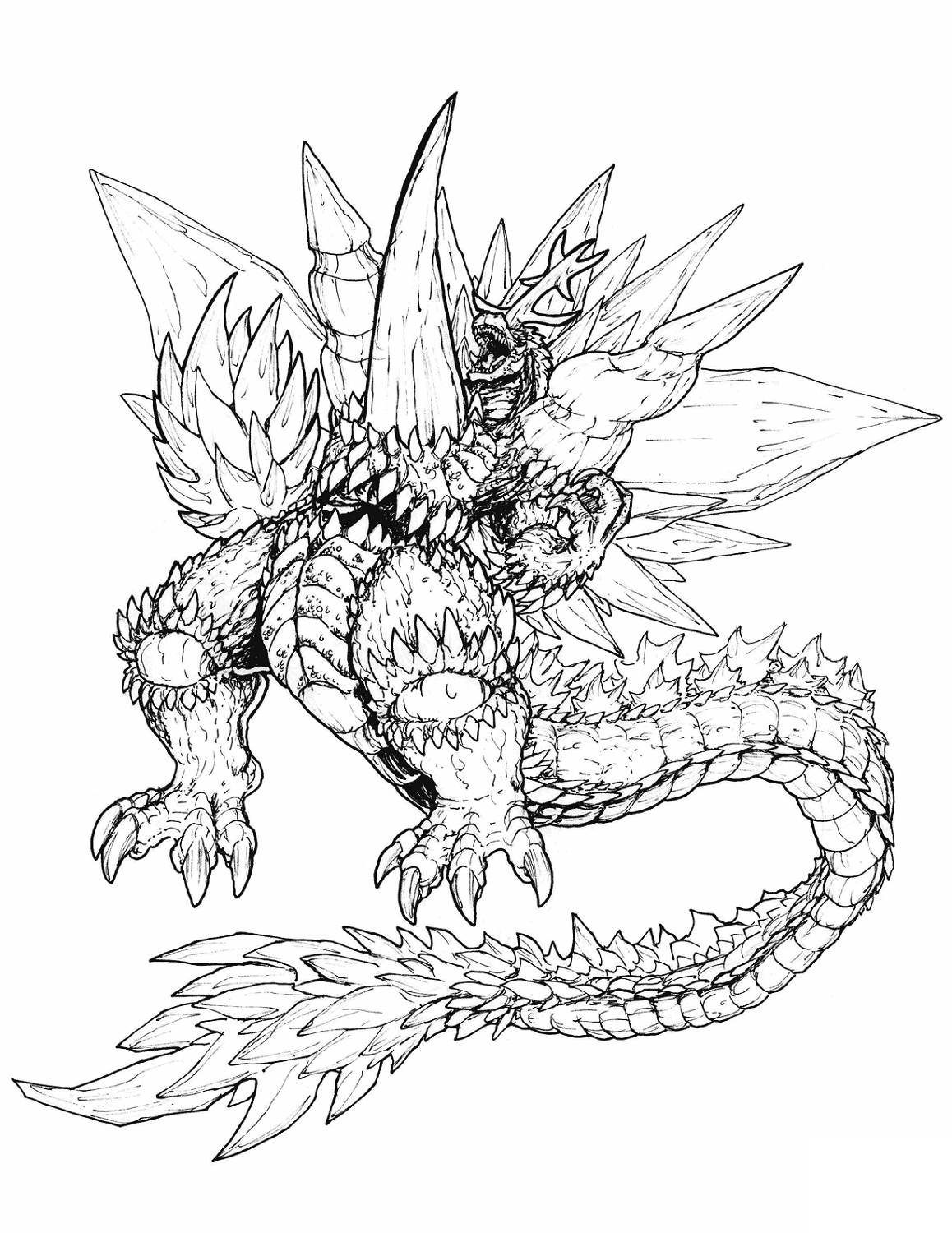 godzilla coloring picture godzilla coloring pages coloring pages to download and print coloring picture godzilla