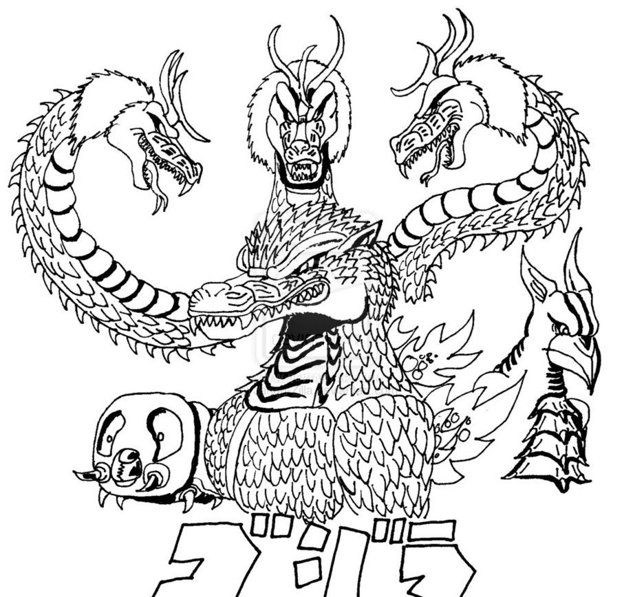 godzilla coloring picture the best free godzilla coloring page images download from godzilla coloring picture