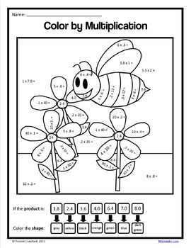 grade 5 coloring pages summer review color by number 5th grade color by coloring pages grade 5
