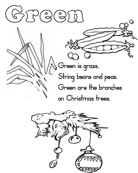 green coloring pages 10 best images of color words worksheets for kindergarten coloring green pages