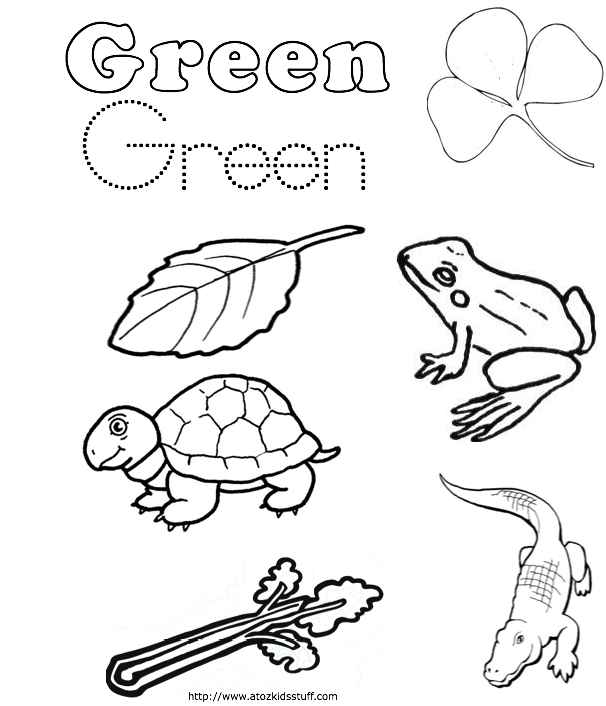 green coloring pages color the tree green coloring page twisty noodle coloring pages green