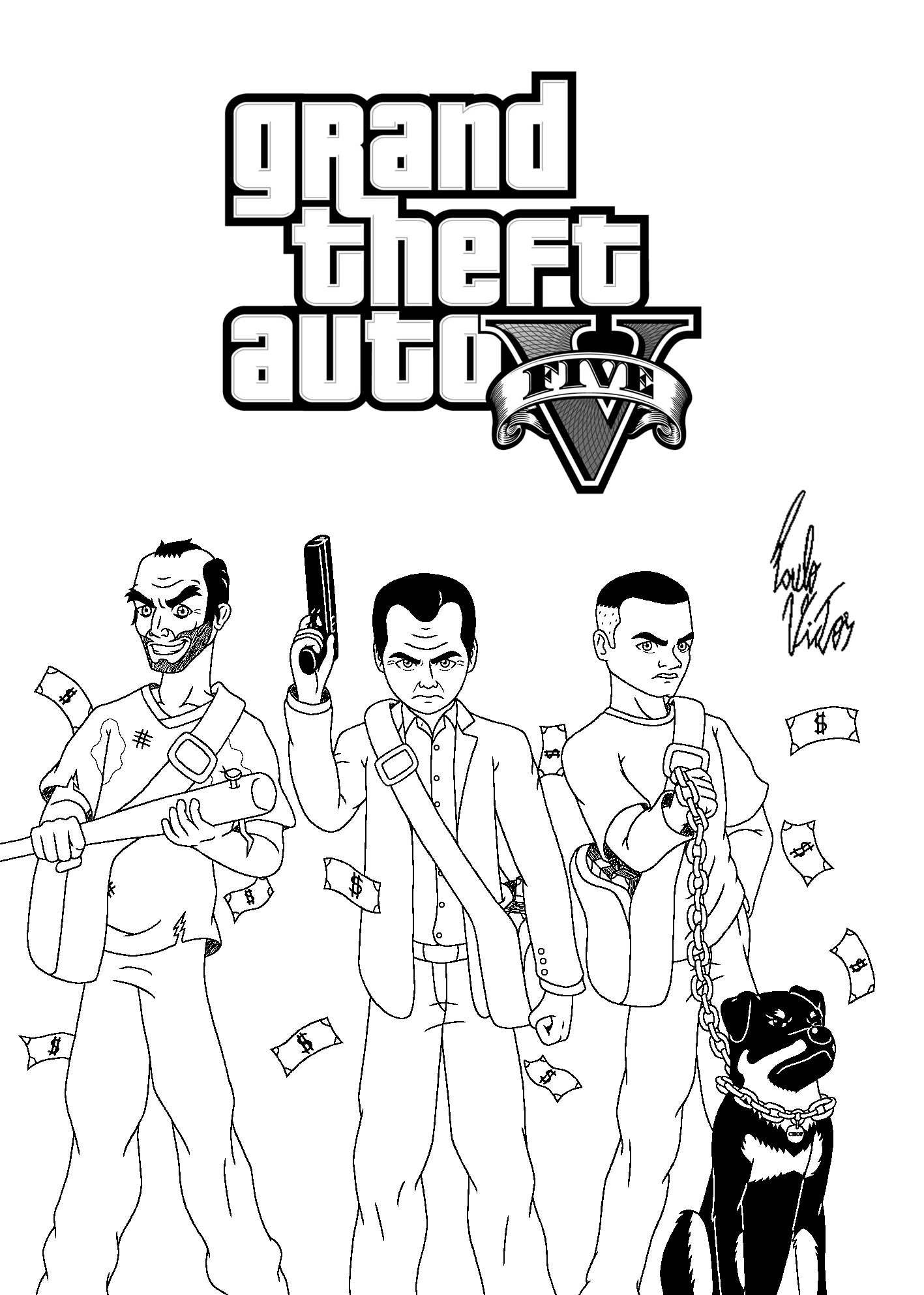 gta 5 coloring pages grand theft auto 5 coloring pages color coloring 5 gta pages