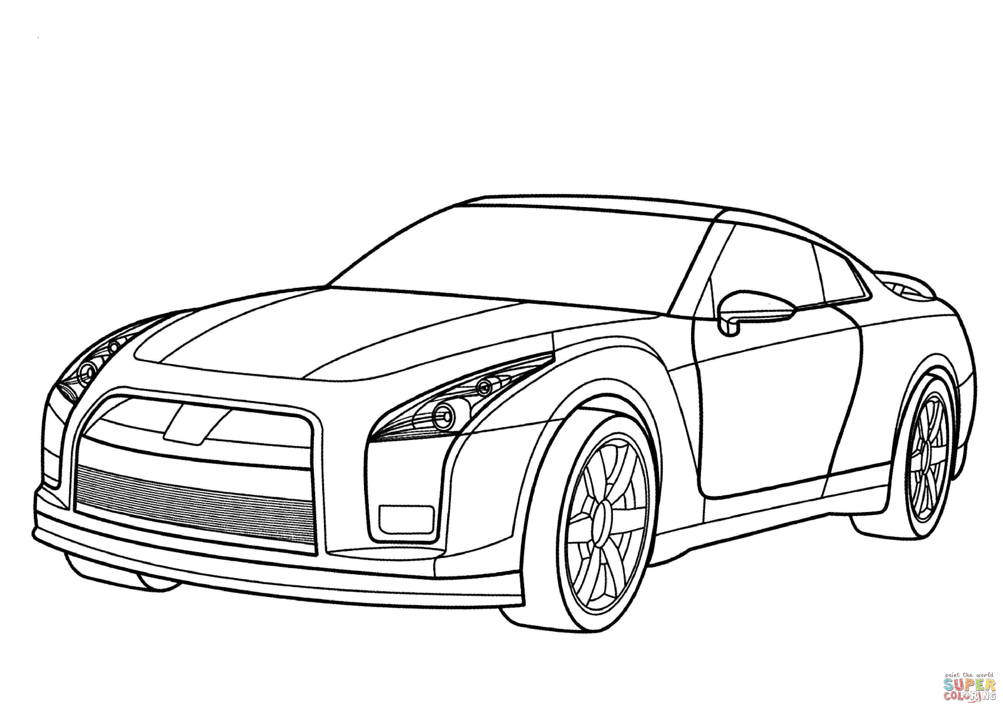 gtr car coloring pages gtr coloring pages downloadable educative printable gtr car pages coloring