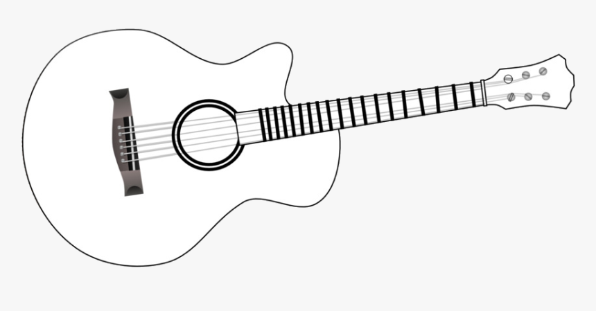 guitar coloring picture guitar of black and white transparent png simple guitar guitar picture coloring