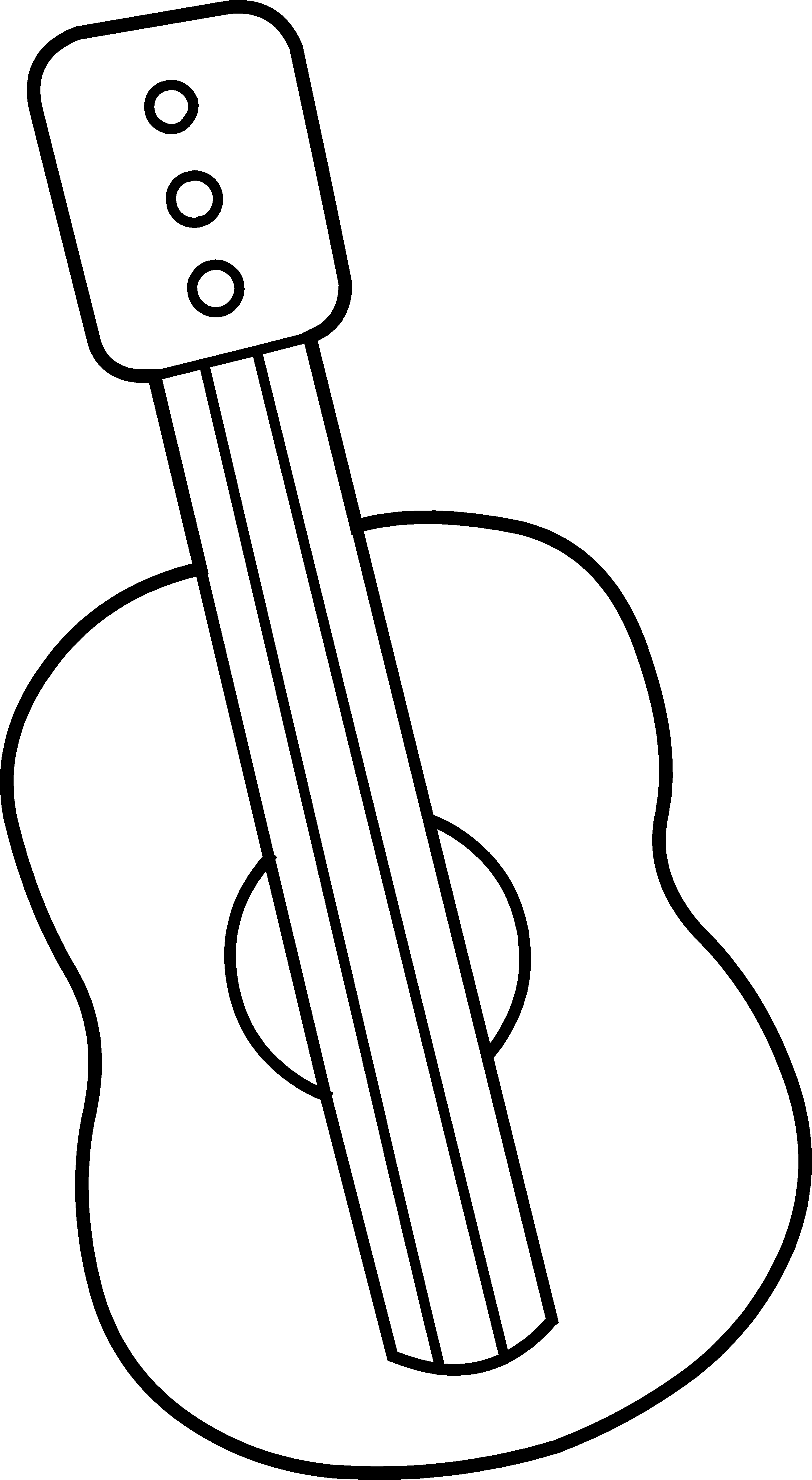 guitar coloring picture musical instrument cliparts free download on clipartmag coloring picture guitar