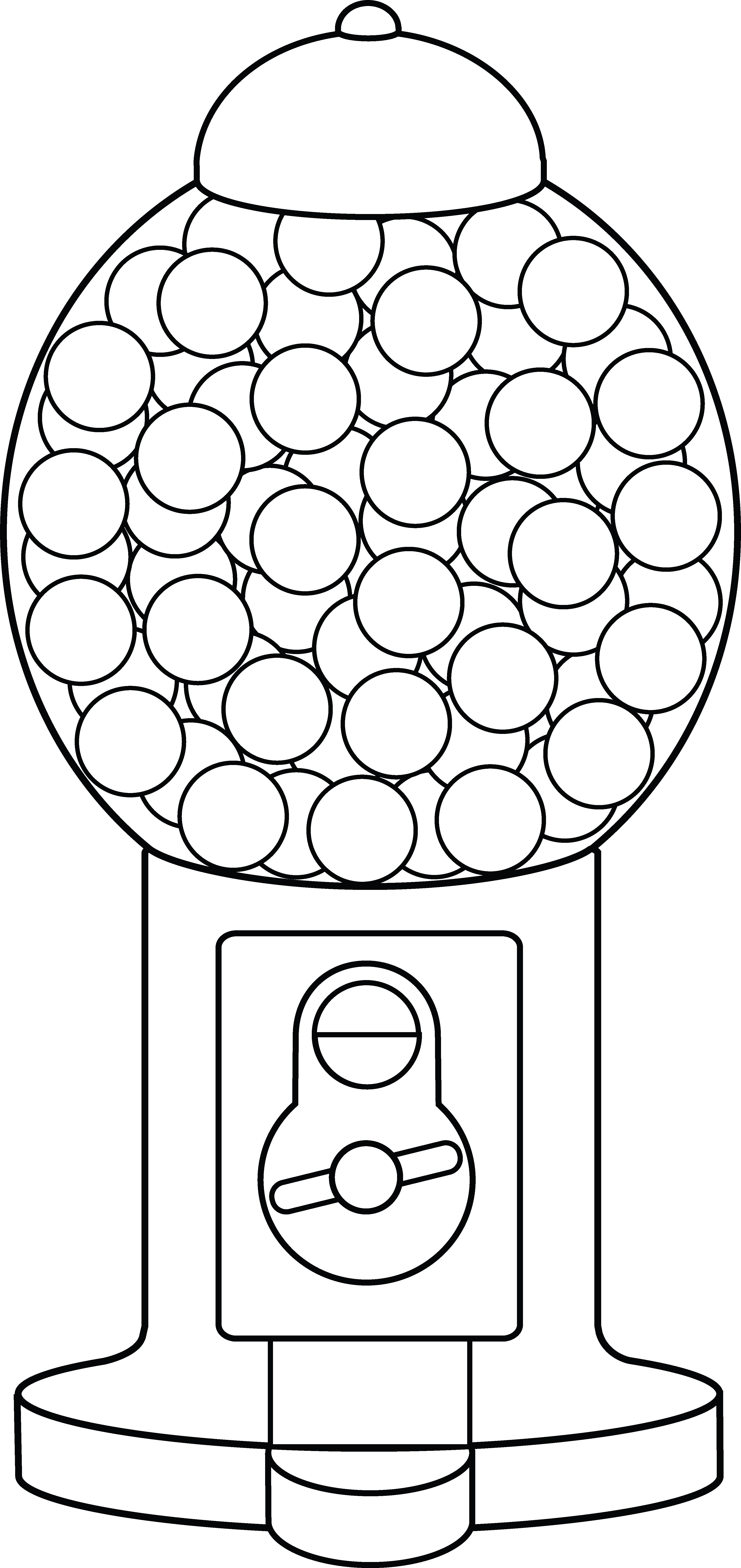 gumball machine coloring page free gumball machine coloring page gumball machine machine page coloring gumball