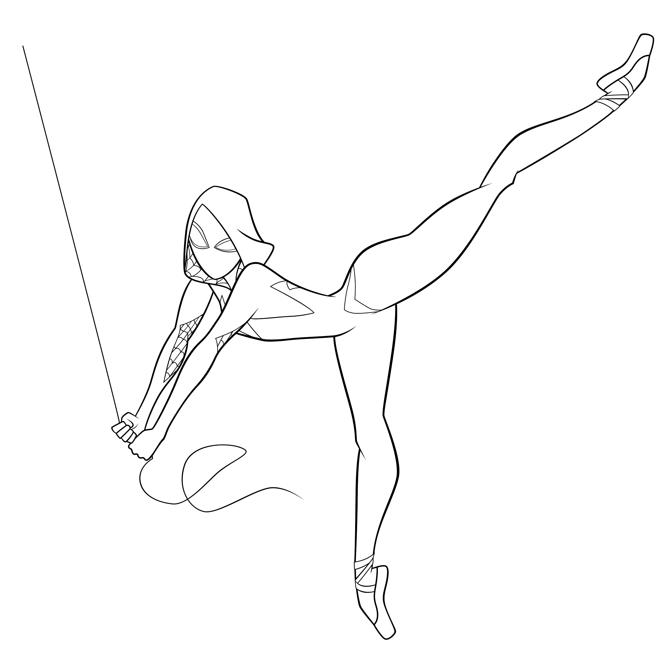 gwen spiderman coloring pages gwen stacy use her powers spiderman coloring pages printable coloring gwen spiderman pages
