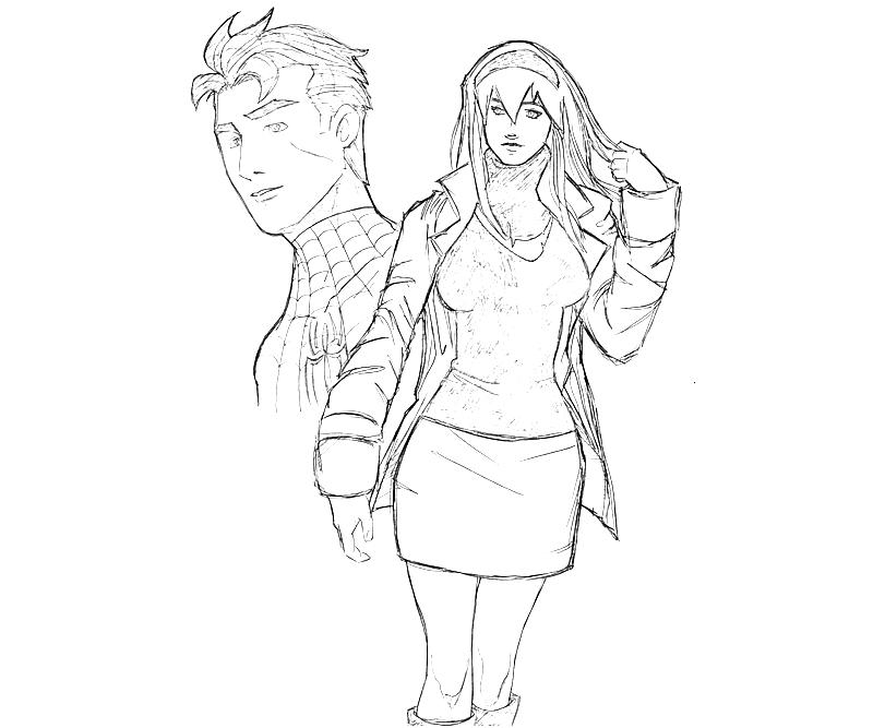 gwen stacy spiderman coloring pages gwen stacy get her powers coloring pages printable stacy spiderman coloring pages gwen