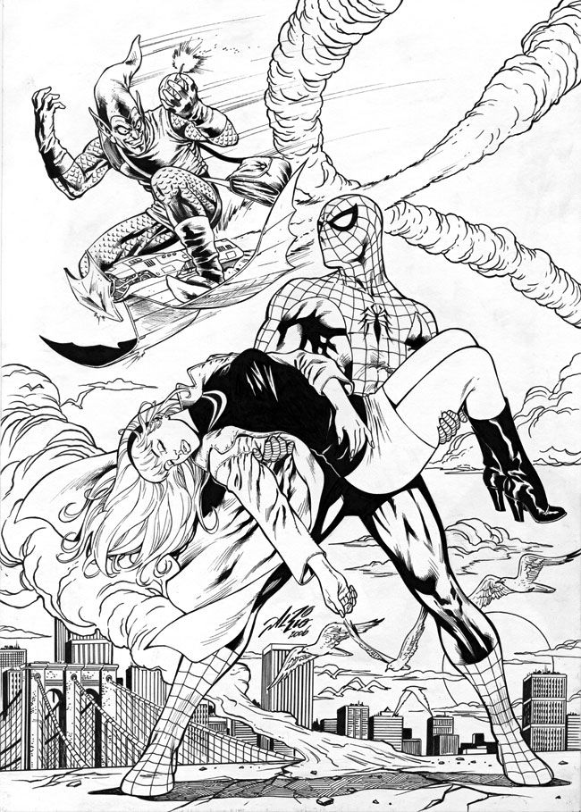 gwen stacy spiderman coloring pages spider man has saved gwen stacy coloring page free stacy spiderman coloring pages gwen