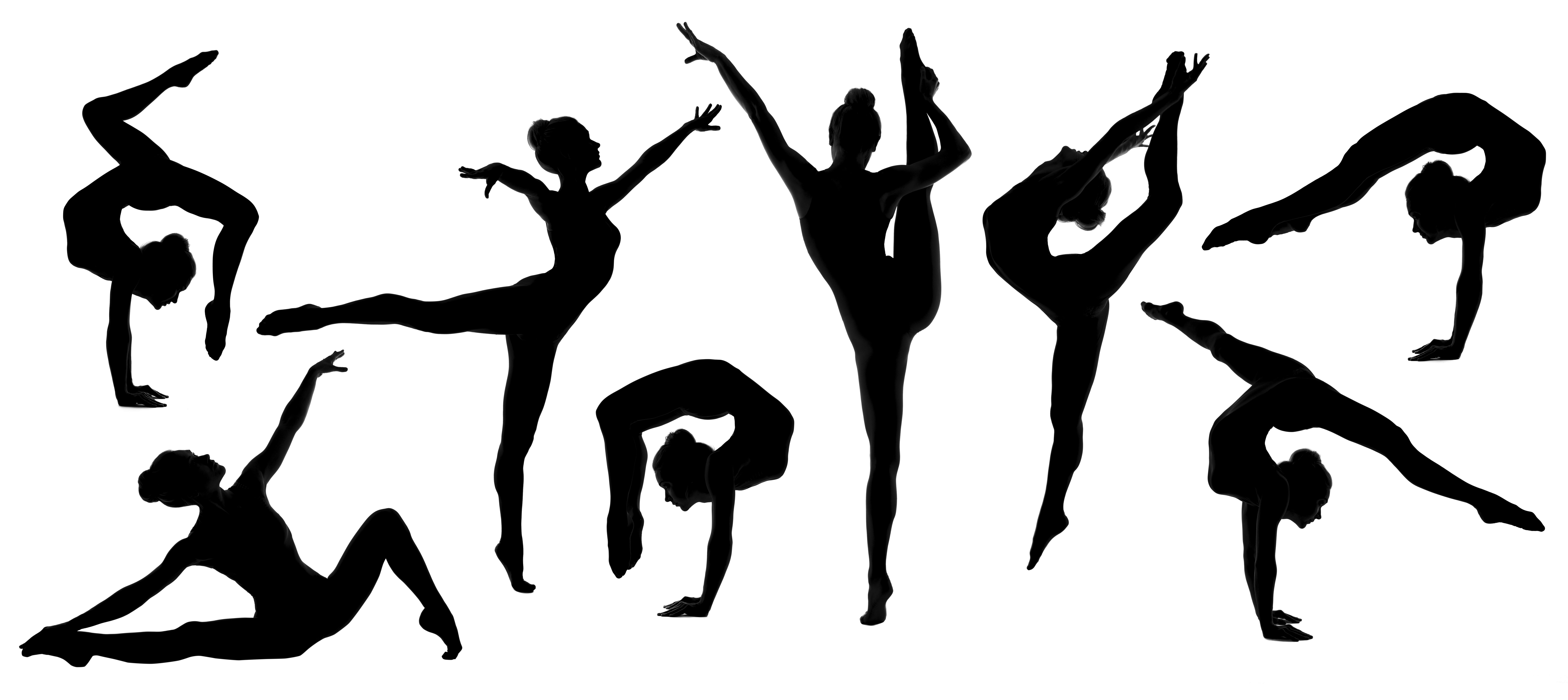 gymnast silhouettes gymnast silhouettes gymnast silhouettes
