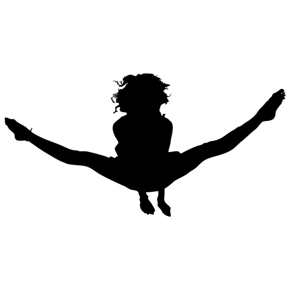 gymnast silhouettes rbs silhouette gymnast 03 scrappin sports stuff gymnast silhouettes