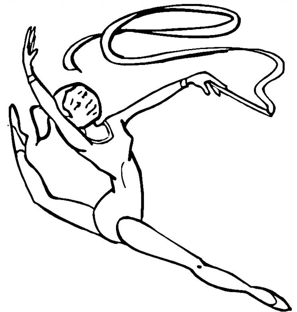 gymnastics coloring pictures olympic girl39s gymnastics coloring page woo jr kids pictures gymnastics coloring