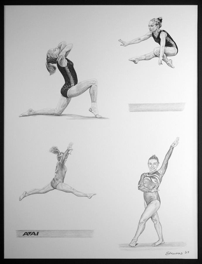 gymnastics sketches 26 best images about gymnastics drawing on pinterest gymnastics sketches