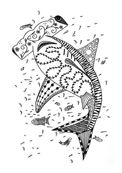 hammerhead shark pictures to color hammerhead shark coloring pages to print free coloring hammerhead to color pictures shark