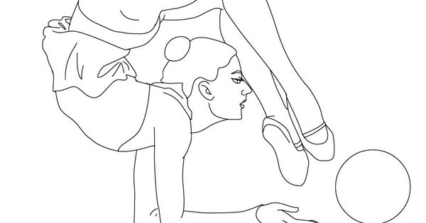 hard gymnastics coloring pages 1000 images about gymnastics on pinterest gymnastics gymnastics coloring pages hard