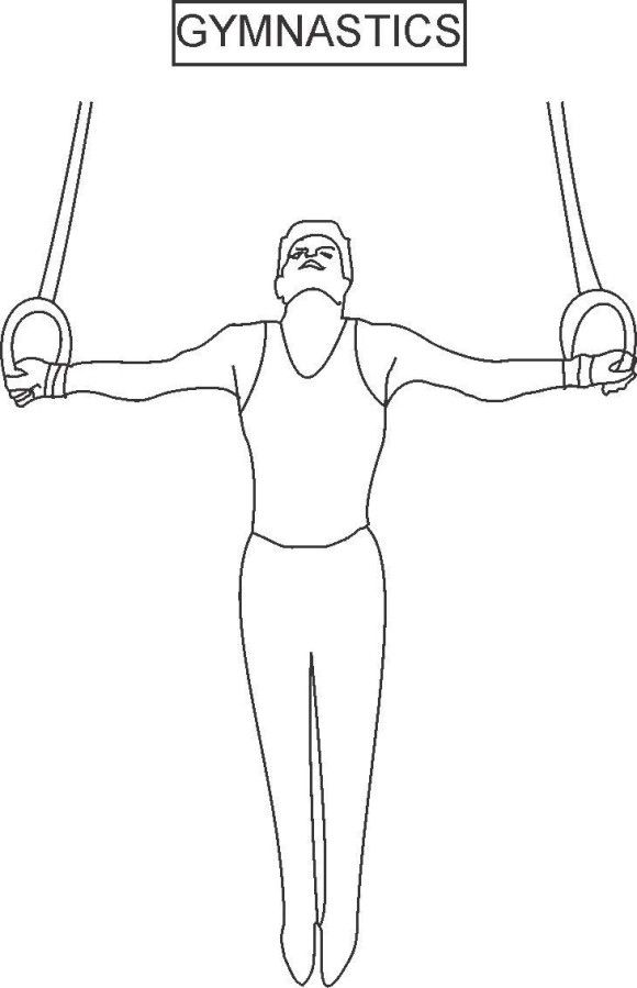 hard gymnastics coloring pages clip art summer olympics event illustrations volleyball gymnastics hard coloring pages