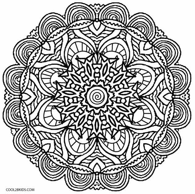hard kaleidoscope coloring pages printable kaleidoscope coloring pages for kids cool2bkids coloring pages kaleidoscope hard