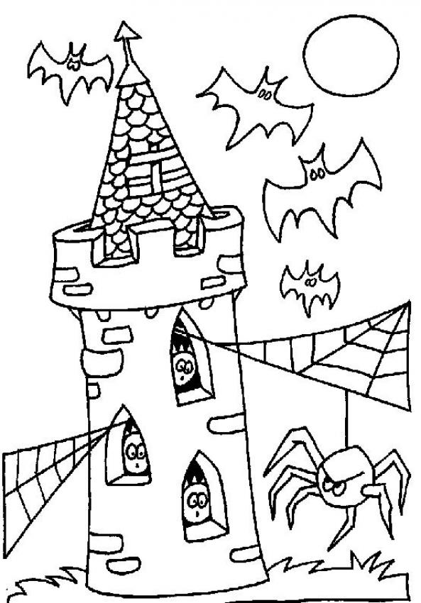 haunted house coloring pages for kids printable haunted house coloring pages for kids kids coloring for pages house haunted
