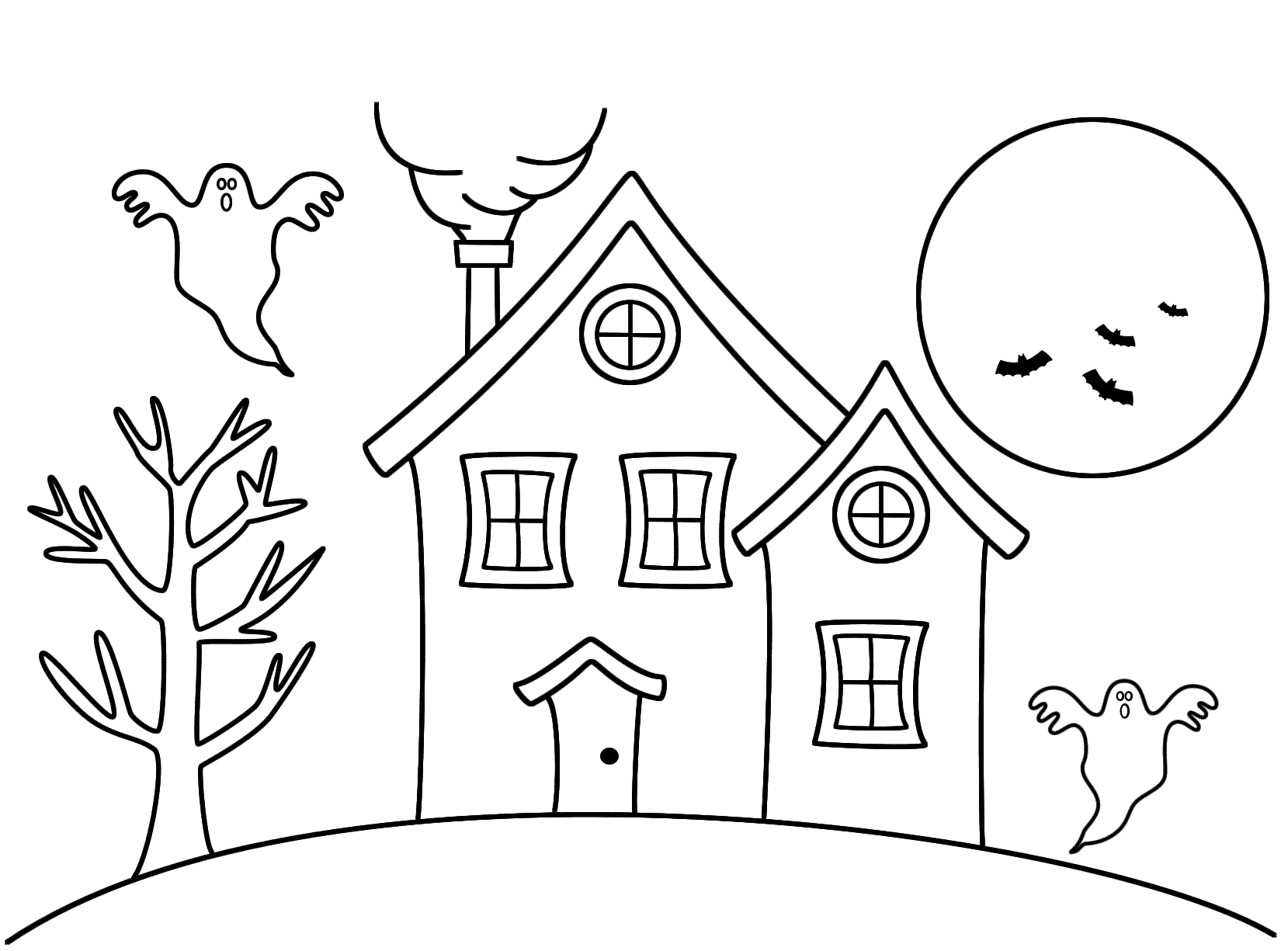 haunted house coloring pages for kids scary haunted house coloring pages download and print for free kids for coloring house haunted pages