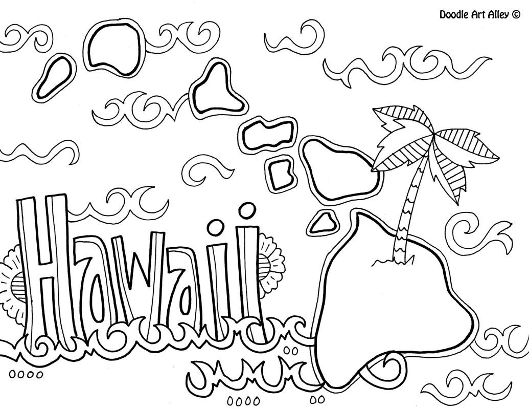 hawaii coloring page coloring pages about hawaii coloring home coloring page hawaii