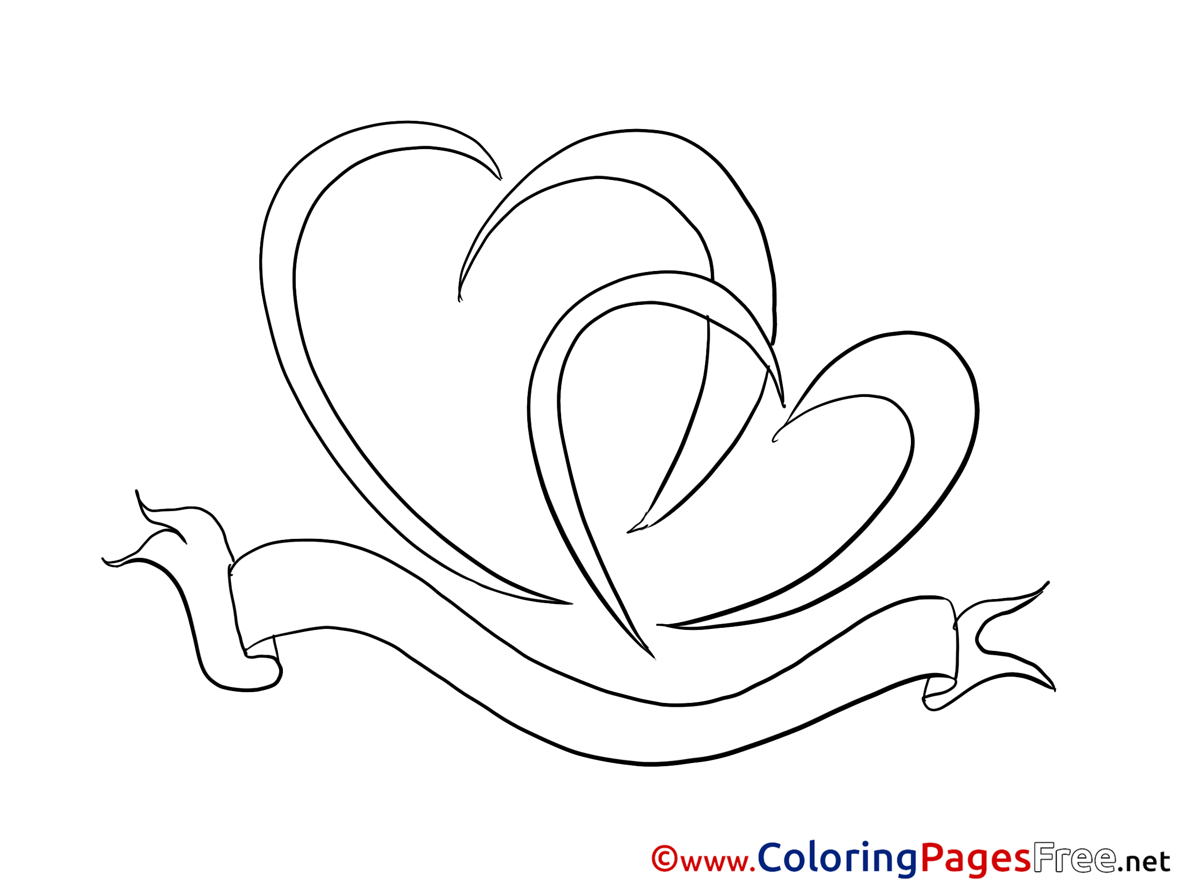 heart with ribbon coloring pages cancer ribbon silhouette at getdrawings free download pages with heart ribbon coloring