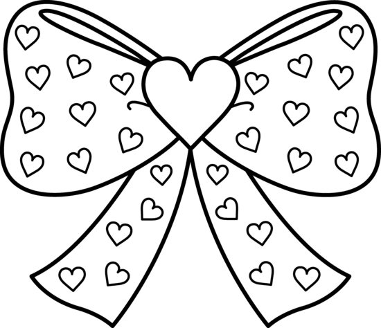 heart with ribbon coloring pages drawings of hearts with ribbons clipart best heart with coloring ribbon pages
