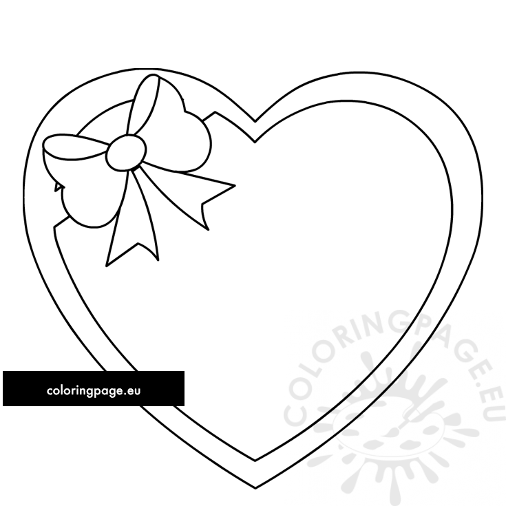 heart with ribbon coloring pages drawings of hearts with ribbons clipartsco coloring pages heart ribbon with