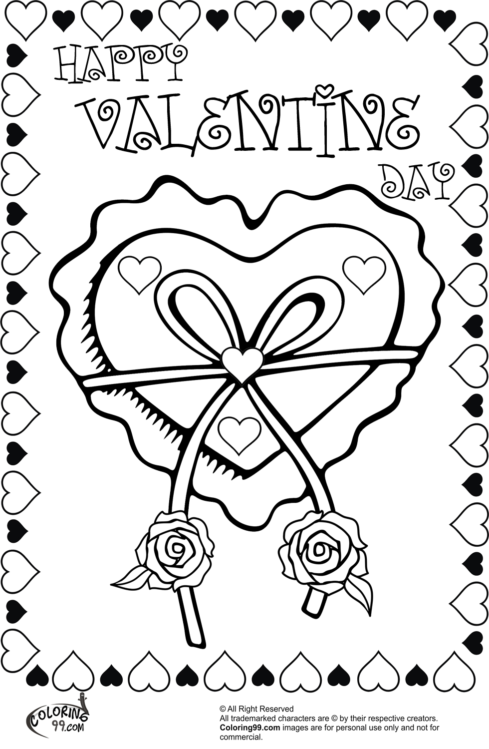 heart with ribbon coloring pages heart with ribbon coloring pages with heart ribbon pages coloring