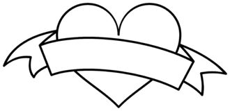 heart with ribbon coloring pages heart with ribbon template coloring page with pages heart ribbon coloring