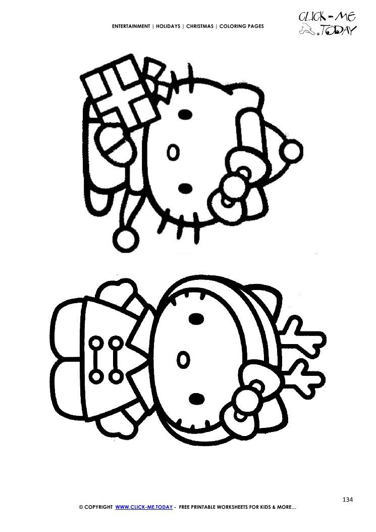 hello kitty christmas coloring pages hello kitty christmas printable coloring pages at hello pages christmas coloring kitty