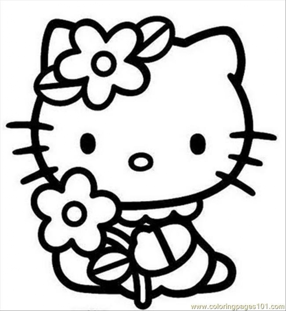 hello kitty coloring pages free printable coloring pages that you can print free download on kitty free hello coloring printable pages