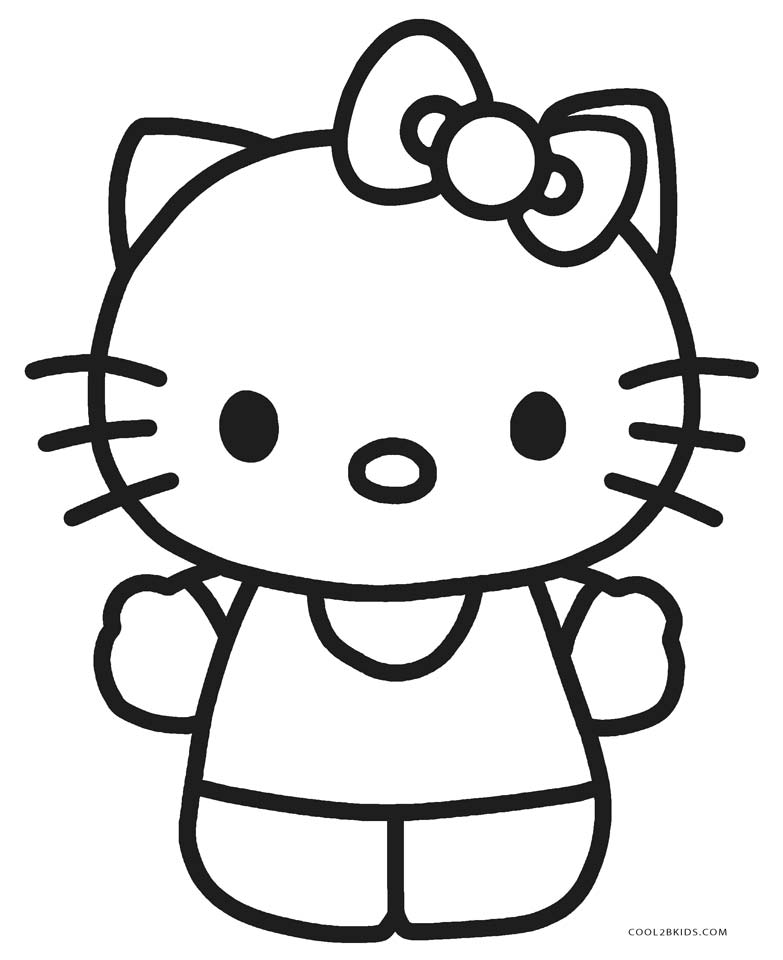 hello kitty coloring pages free printable free printable hello kitty coloring pages for pages free printable hello pages coloring kitty