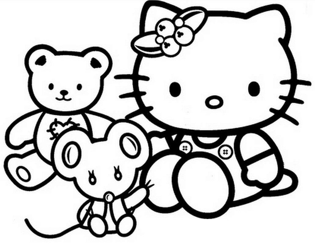 hello kitty coloring pages free printable hello kitty coloring pages getcoloringpagescom free printable coloring pages kitty hello