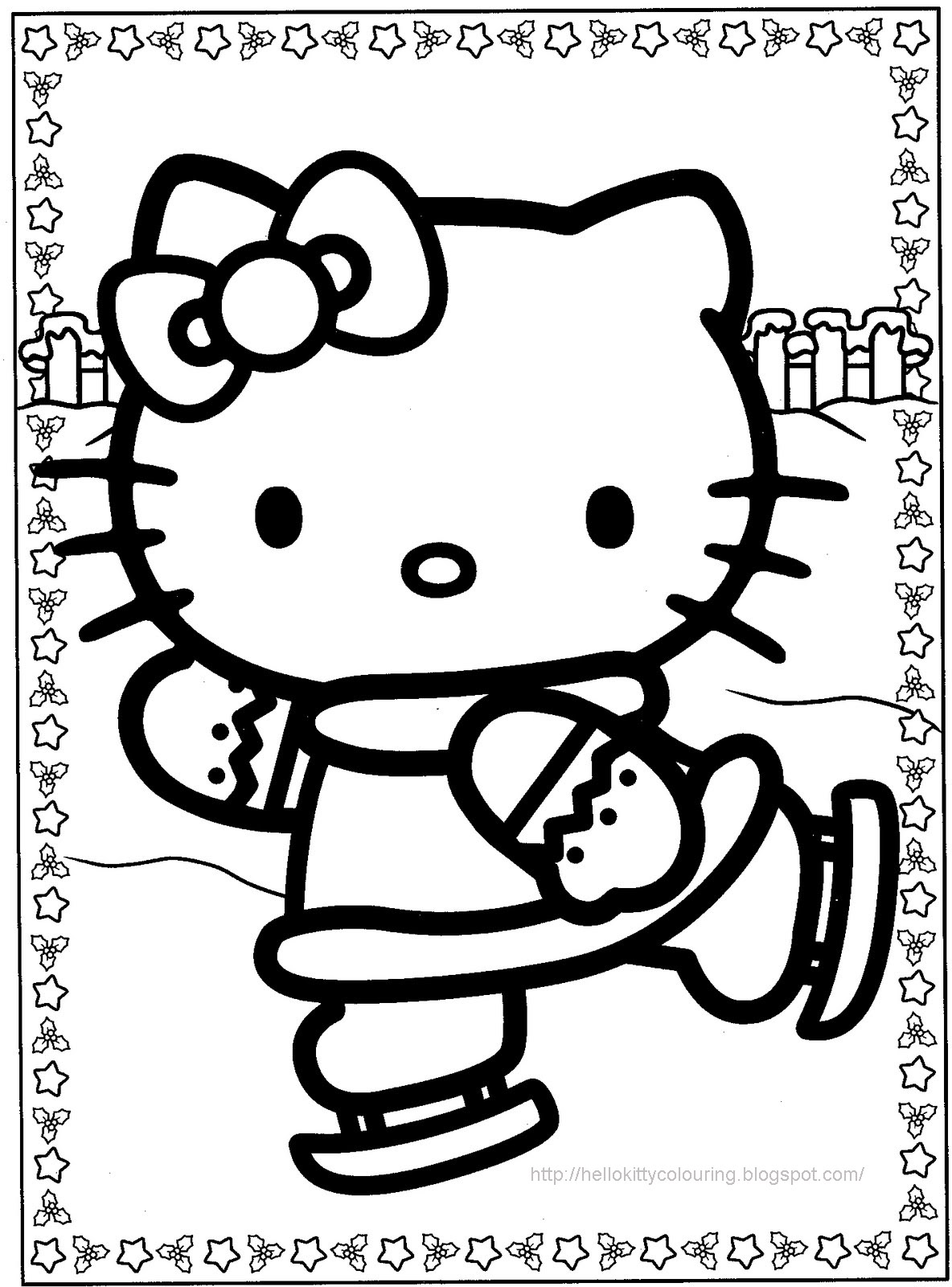 hello kitty coloring pages free printable hello kitty free to color for kids hello kitty kids pages printable coloring kitty hello free