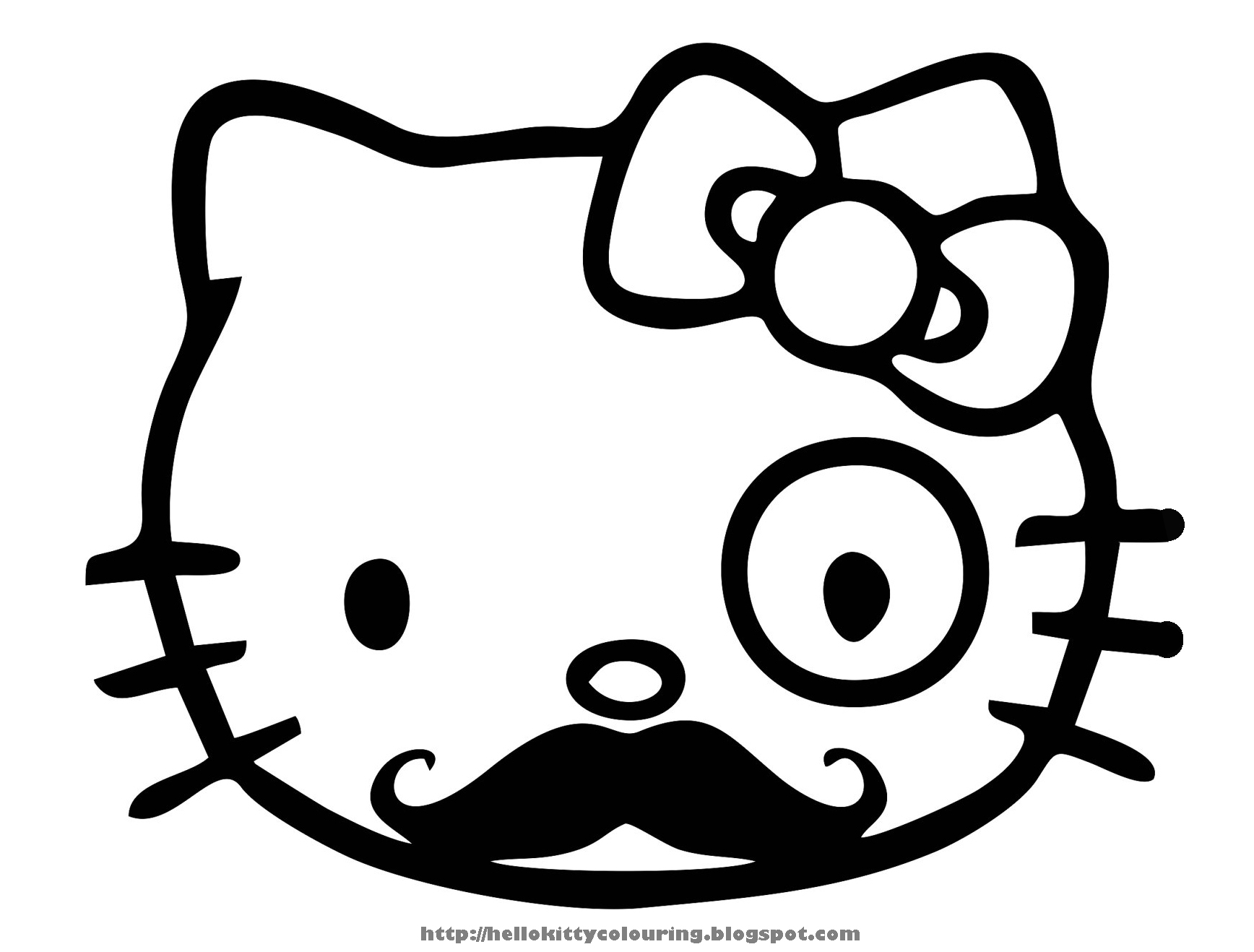 hello kitty coloring pages free printable large hello kitty coloring pages download and print for free pages hello printable free kitty coloring
