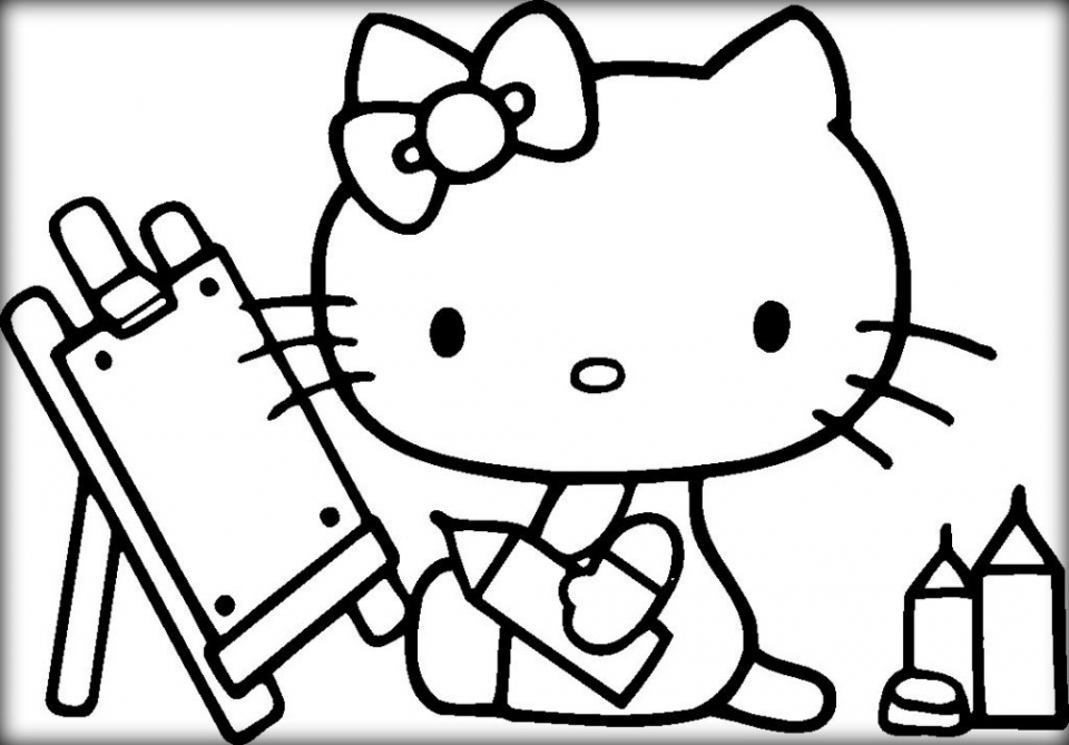 hello kitty images to color get this hello kitty coloring pages mermaid 0vn3b to images kitty color hello
