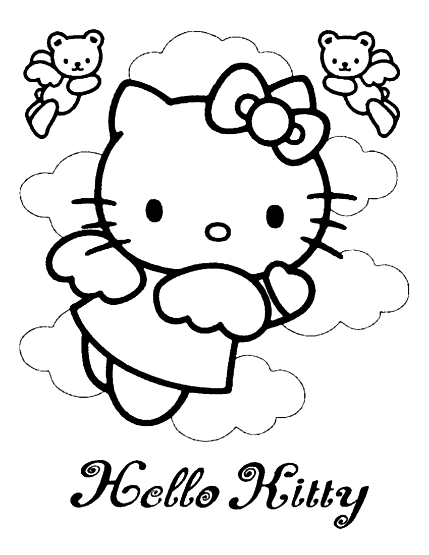 hello kitty images to color hello kitty coloring pages original coloring pages kitty hello color images to