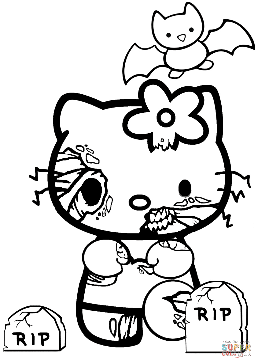 hello kitty images to color hello kitty rainbow coloring page free printable lusine color to images hello kitty