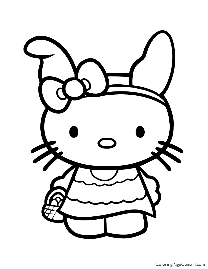 hello kitty images to color top hello kitty fall coloring pages drawing free hello color kitty images to