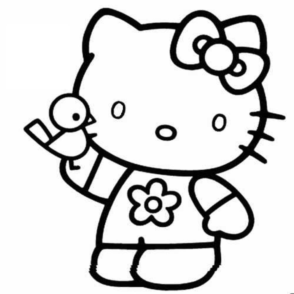 hello kitty outline picture 17 best images about hello kitty on pinterest free kitty picture outline hello
